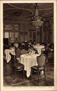 Ak Essen im Ruhrgebiet Nordrhein Westfalen, Ansicht vom grossen Saal des Hotel Kaiserhof