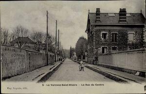 Ak La Varenne Saint Hilaire Val de Marne, La Rue du Centre