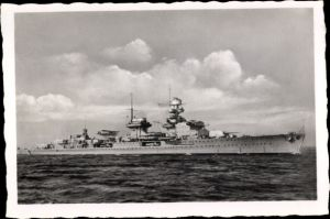 Foto Deutsches Kriegsschiff, Kreuzer Nürnberg