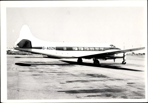 Foto Britisches Passagierflugzeug, Flugzeug, G-AOZN