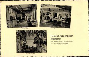 Ak Speyer am Oberrhein Rheinland Pfalz, Metzgerei Heinrich Steinhäuser