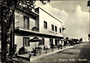 Ak Riccione Emilia Romagna, Pensione Wally, Terrasse