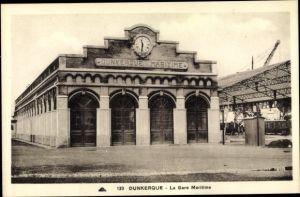 Ak Dunkerque Nord, La Gare Maritime