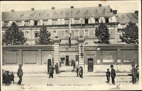 Ak Lille Nord, Caserne des Chasseurs a pied