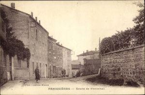 Ak Panissières Loire, Route de Montchal