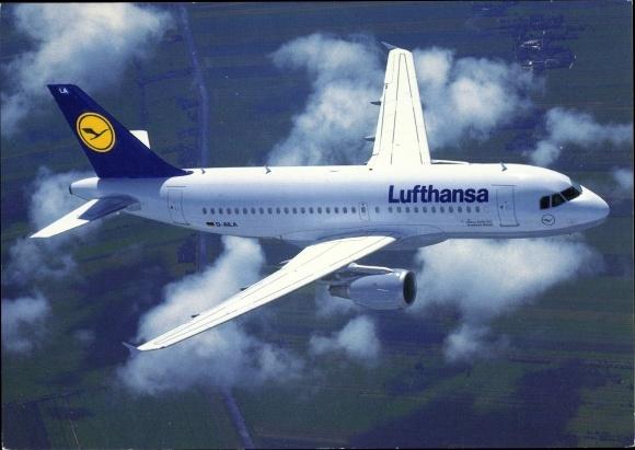 Ak Airbus A 319-100, Lufthansa, Passagierflugzeug