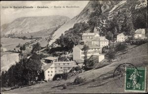 Ak Genève Genf Stadt, Moulin de Montbrillant, Vue générale