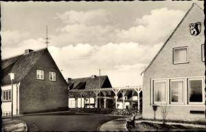 Ak Elmschenhagen Kiel in Schleswig Holstein, Rentnerwohnheim Sanssouci, Häuserpartie