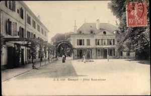 Ak Champel Kanton Genf, Hotel Beau sejour