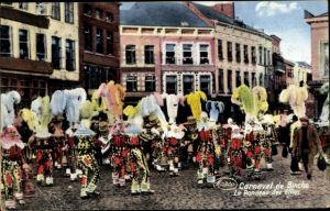 Ak Binche Wallonien Hennegau, Le Rondeau des Gilles, Carneval