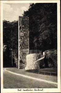Ak Kiel in Schleswig Holstein, Seesoldaten Denkmal