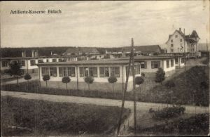 Ak Bülach Kt. Zürich Schweiz, Artillerie Kaserne