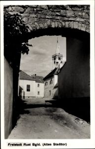 Ak Rust im Burgenland, Altes Stadttor