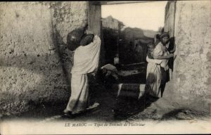 Ak Marokko, Le Maroc, Types de femmes de l'intérieur