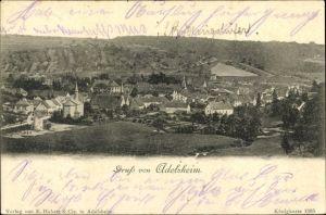 Ak Adelsheim im Neckar Odenwald Kreis, Panoramaansicht von Ortschaft und Umgebung