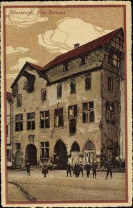 Ak Bad Münstereifel in Nordrhein Westfalen, Altes Rathaus