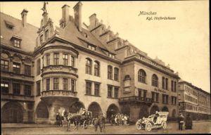 Ak München Bayern, Königliches Hofbräuhaus