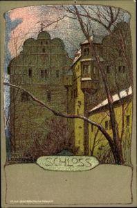 Künstler Litho Liebermann, Ernst, Schloss