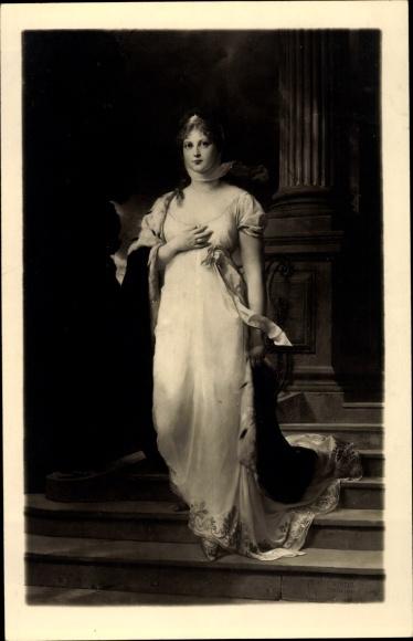 Künstler Ak Richter, Gustav, Königin Luise von Mecklenburg Strelitz, Luise von Preußen