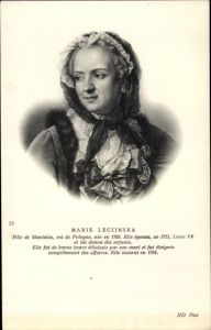 Künstler Ak Marie Leczinska, Königin von Frankreich, Frau von Louis XV.
