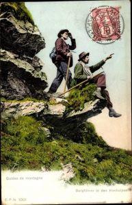 Ak Schweiz, Guides de montagne, Bergführer in den Hochalpen
