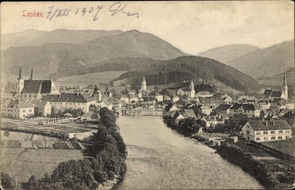Ak Leoben Steiermark, Ortschaft