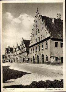Ak Donauwörth in Schwaben, Tanzhaus, um 1400