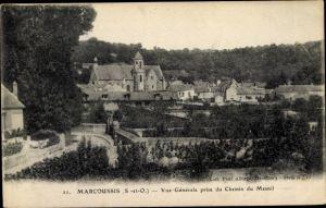 Ak Marcoussis Essonne, Vue Generale, prise du Chemin du Mesnil