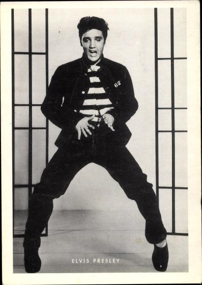 Ak Nachdruck, Musiker und Sänger Elvis Presley, Rock 'n Roll