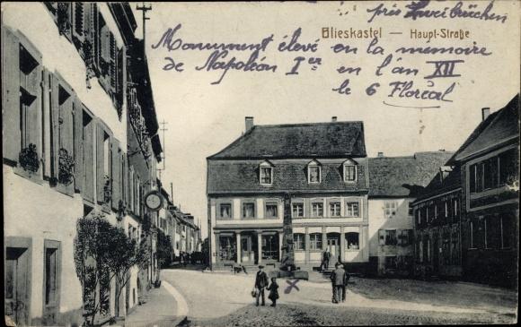 Ak Blieskastel im Saarland, Hauptstraße