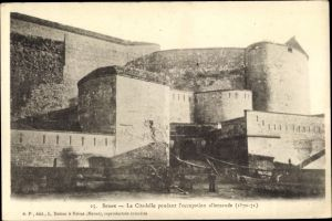 Ak Sedan Ardennes, La Citadelle pendant l'occupation allemande