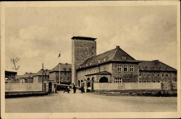 Ak Soest in Nordrhein Westfalen, Kaserne, Eingang