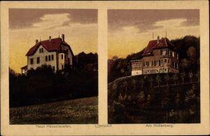 Ak Lohmar Nordrhein Westfalen, Haus Hasselssiefen, Am Hollenberg, Villen