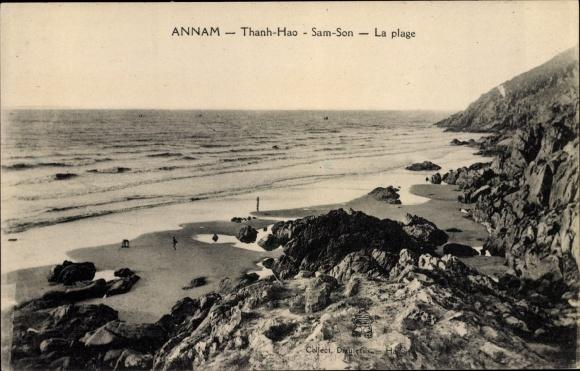 Ak Thanh Hao Annam Vietnam, Sam Son, La Plage