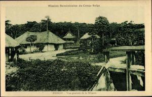 Ak Rungu DR Kongo Zaire, Vue générale de la Mission