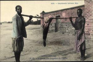 Ak Demokratische REpublik Kongo Zaire, Poisson des Rapides de l'Elila
