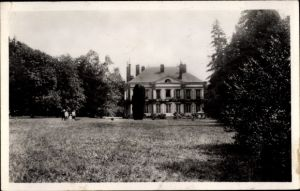 Ak Courtenay Loiret, Chateau de Sainte Anne