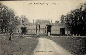 Ak Chevilly Loiret, Le Chateau