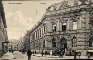 Ak Kaiserslautern in Rheinland Pfalz, Postamt
