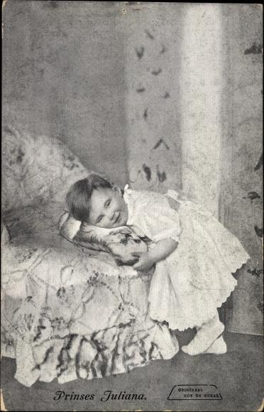 Ak Prinses Juliana, spätere Königin der Niederlande, Kronprinzessin