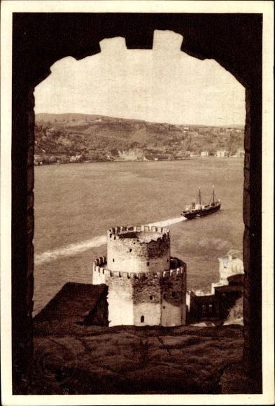 Ak Konstantinopel Istanbul Türkei, Rumeli Hisarı, Festungsanlage