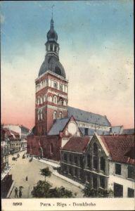 Ak Riga Lettland, Domkirche
