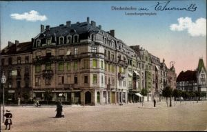 Ak Thionville Diedenhofen Lothringen Moselle, Luxemburger Tor Platz