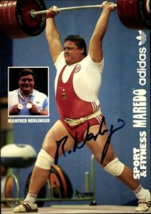 Ak Gewichtheber Manfred Nerlinger, Weltmeister