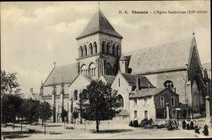 Ak Thouars Deux-Sèvres, L'Église St. Laon