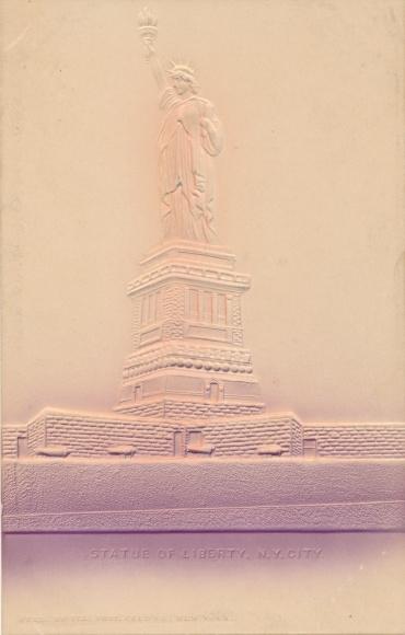 Präge Ak New York City USA, Statue of Liberty, Freiheitsstatue