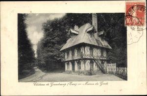 Ak Grandcamp Eure, Chateau de Grandcamp, Maison du Garde
