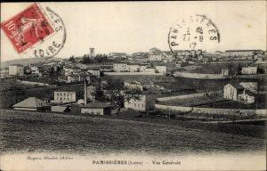 Ak Panissières Loire, Vue générale