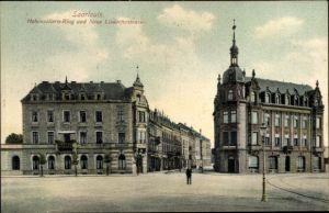 Ak Saarlouis im Saarland, Hohenzollern Ring, Neue Lisdorfer Straße
