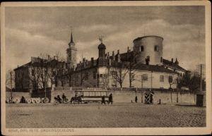 Ak Riga Lettland, altes Ordensschloss